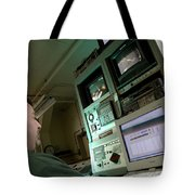 Wind Tunnel Control Room Tote Bag