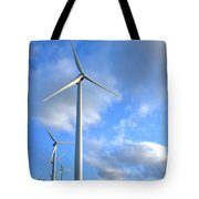 Wind Turbine Farm Tote Bag