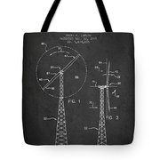 Wind Turbine Rotor Blade Patent From 1995 - Dark Tote Bag