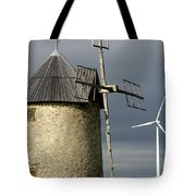 Wind Turbines And Windfarm Tote Bag