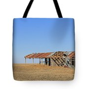 Windblown Barn Tote Bag
