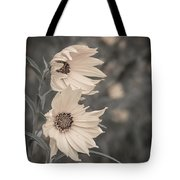 Windblown Wild Sunflowers Tote Bag
