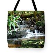 Winding Cascade Tote Bag