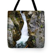 Winding Down The Cliffs Tote Bag