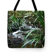 Winding Mountain Cascade Tote Bag
