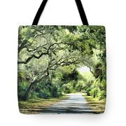 Winding Path Tote Bag