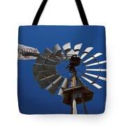 Windmill Aermotor Company Tote Bag