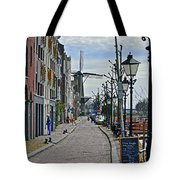 Windmill At The End Of The Street Tote Bag