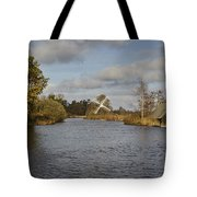 Windmill How Hill Tote Bag