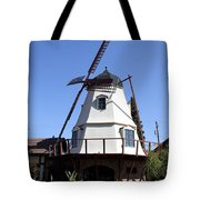 Windmill In Solvang Tote Bag