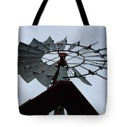 Windmill In The Clouds Tote Bag
