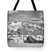 Windmill On A Hill Tote Bag