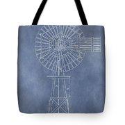 Windmill Patent Tote Bag