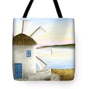 Windmill Tote Bag by Veronica Minozzi