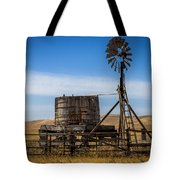 Windmill Water Pump Station Tote Bag