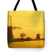 Windmills Netherlands Tote Bag