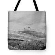 Windmills On The Hill Tote Bag