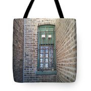 Window Against The Wall Tote Bag