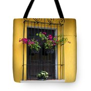 Window At Old Antigua Guatemala Tote Bag