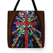 Window At The Little Church In La Villita Tote Bag