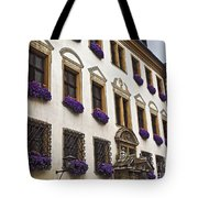 Window Boxes In Germany Tote Bag