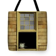 Window Cat    No. 2 Tote Bag