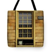 Window Cat    No.1 Tote Bag