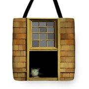 Window Cat    No.3 Tote Bag