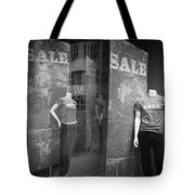 Window Display Sale With Mannequins No.1292 Tote Bag