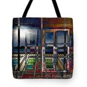 Window Dreaming Tote Bag