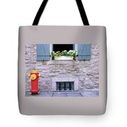 Window Flower Box 2 Tote Bag