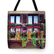 Window Flower Tote Bag
