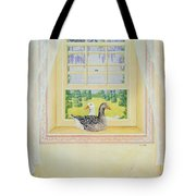 Window Geese Tote Bag