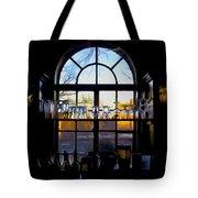Window In A Bar Tote Bag