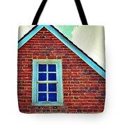 Window In Brick House Tote Bag