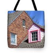 Window In Pink Tote Bag