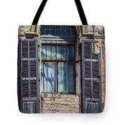 Window In Tel Aviv Tote Bag