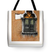 Window In Verona Poster Tote Bag