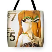 Window Mannequin 6 Tote Bag