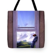 Window Of Dreams Tote Bag by Jerry LoFaro
