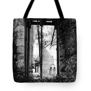 Window Of Haunted Abbey Tote Bag