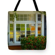 Window Of Many Colors Tote Bag