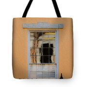 Window Reflecting Upon Window Tote Bag
