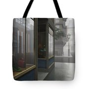 Window Shopping Tote Bag by Cynthia Decker