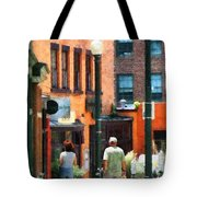 Window Shopping In Downtown Asheville Tote Bag