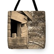 Window To Nowhere - Sepia Tote Bag