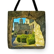 Window View Of Mission Tote Bag