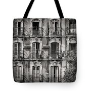 Windows And Balconies 2 Tote Bag