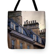 Windows And Chimneys Tote Bag