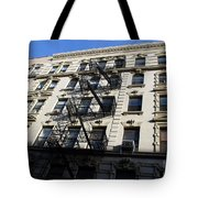 Windows And Stairs Tote Bag